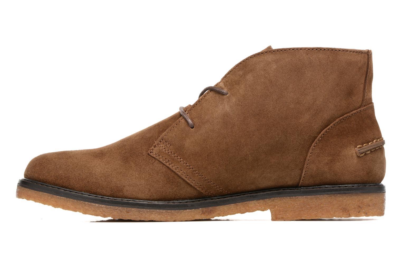 Zapatos con cordones Polo Ralph Lauren Marlow Marrón vista de frente