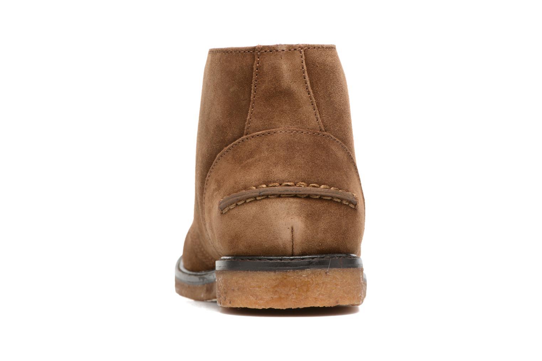 Zapatos con cordones Polo Ralph Lauren Marlow Marrón vista lateral derecha