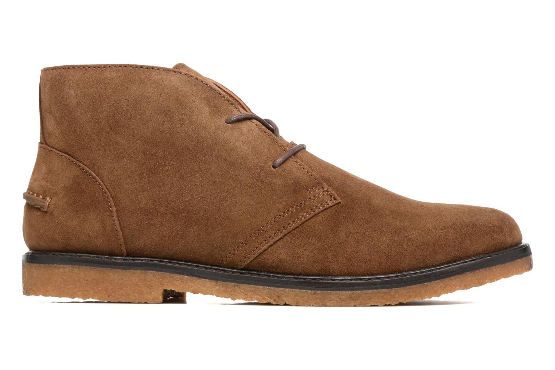 Zapatos con cordones Polo Ralph Lauren Marlow Marrón vistra trasera