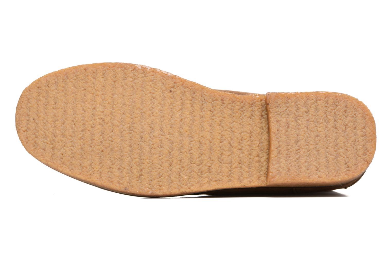 Zapatos con cordones Polo Ralph Lauren Marlow Marrón vista de arriba