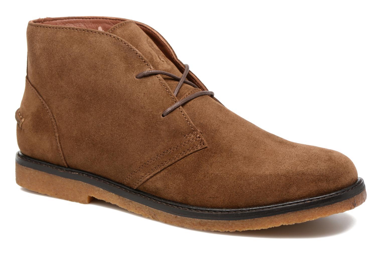Zapatos con cordones Polo Ralph Lauren Marlow Marrón vista de detalle / par