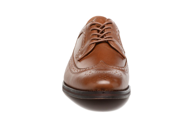 Chaussures à lacets Polo Ralph Lauren Moseley Marron vue portées chaussures