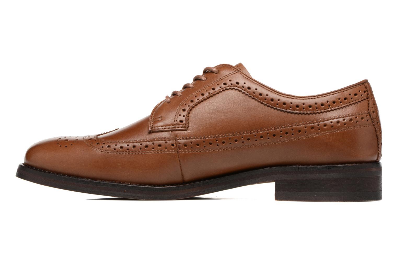 Chaussures à lacets Polo Ralph Lauren Moseley Marron vue face