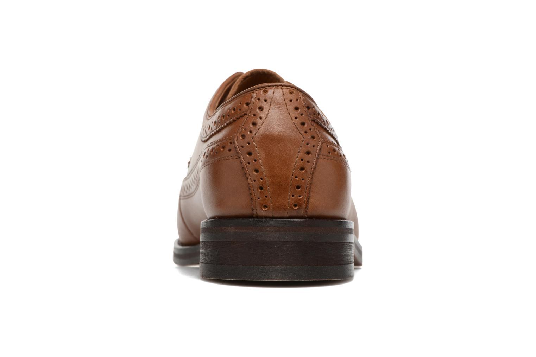 Chaussures à lacets Polo Ralph Lauren Moseley Marron vue droite