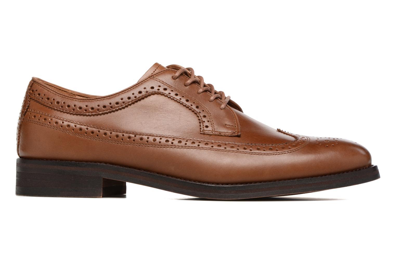 Chaussures à lacets Polo Ralph Lauren Moseley Marron vue derrière