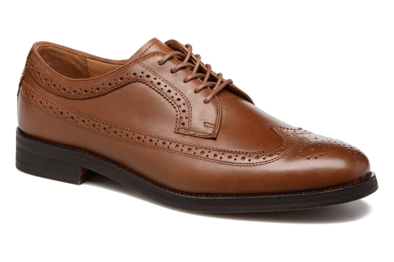 Chaussures à lacets Polo Ralph Lauren Moseley Marron vue détail/paire
