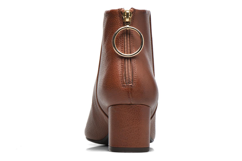 Bottines et boots Billi Bi Alvilda Marron vue droite