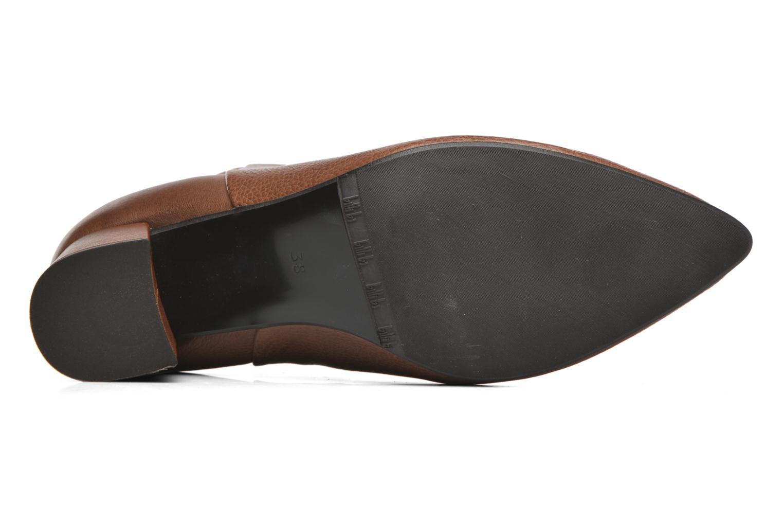 Bottines et boots Billi Bi Alvilda Marron vue haut