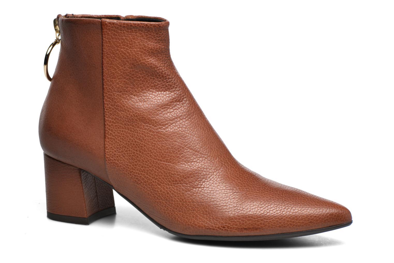 Bottines et boots Billi Bi Alvilda Marron vue détail/paire