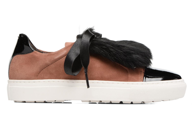 Sneakers Billi Bi Hege Bruin achterkant