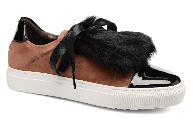 Sneakers Billi Bi Hege Brun detaljeret billede af skoene