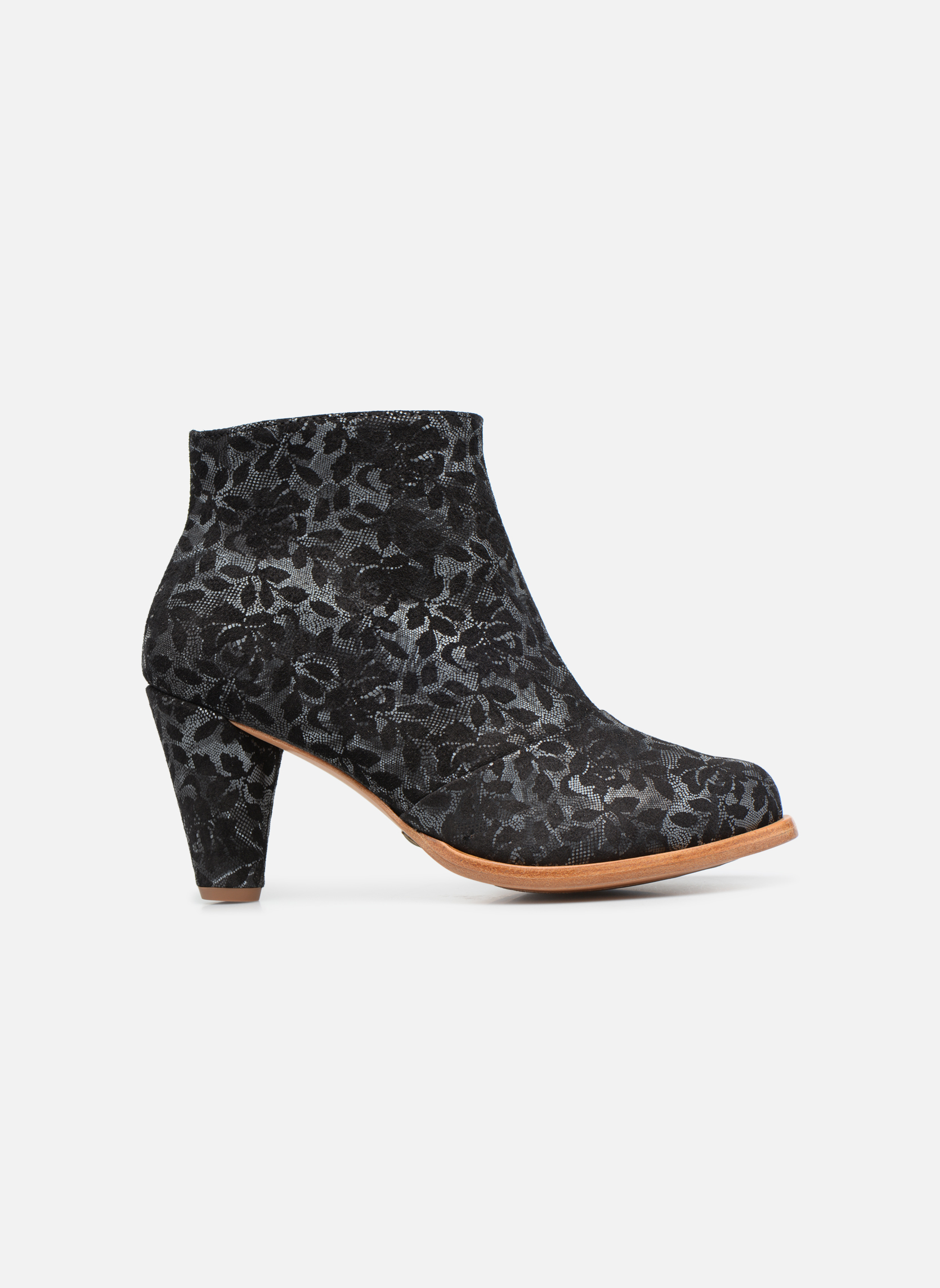 Ankle boots Neosens BEBA S932 Black back view