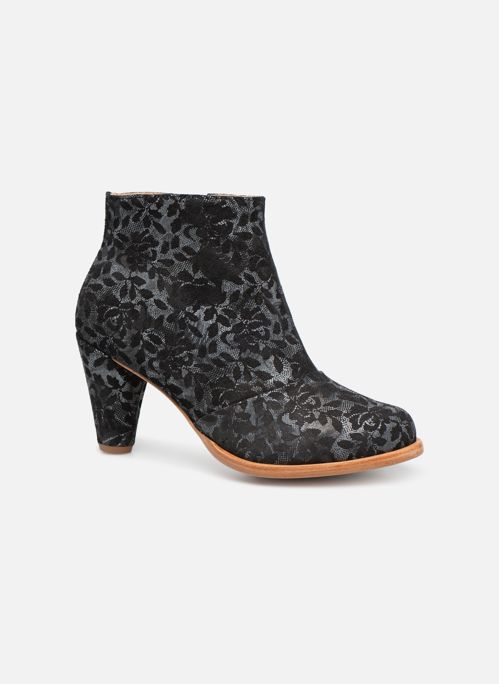 Ankle boots Neosens BEBA S932 Black detailed view/ Pair view
