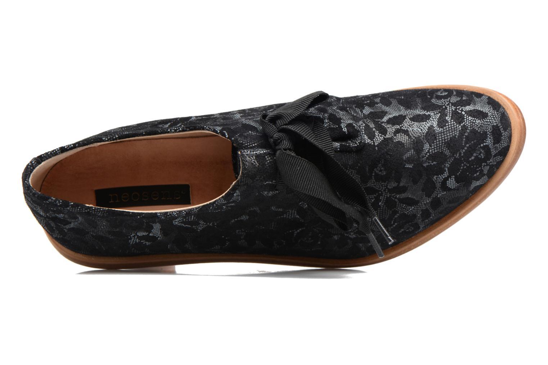 Chaussures à lacets Neosens CYNTHIA S534 Noir vue gauche