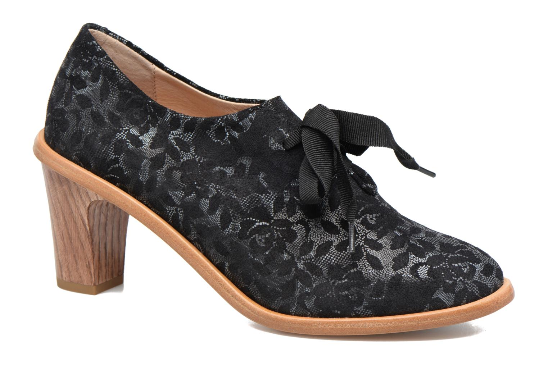 Chaussures à lacets Neosens CYNTHIA S534 Noir vue détail/paire