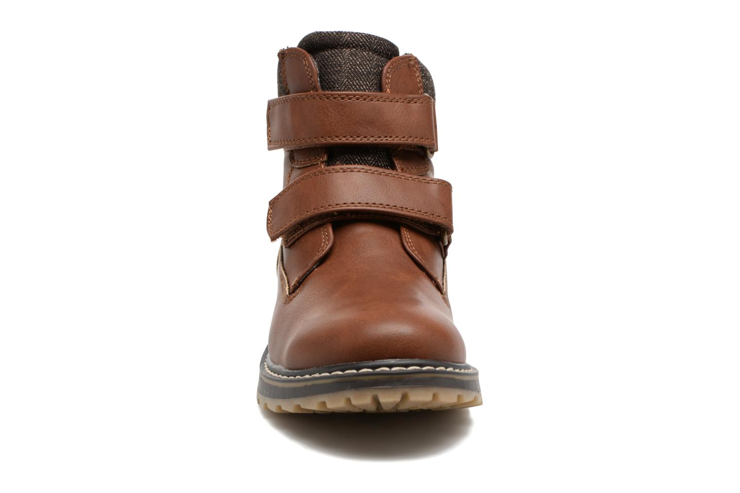 Ankle boots I Love Shoes GALLON Brown model view