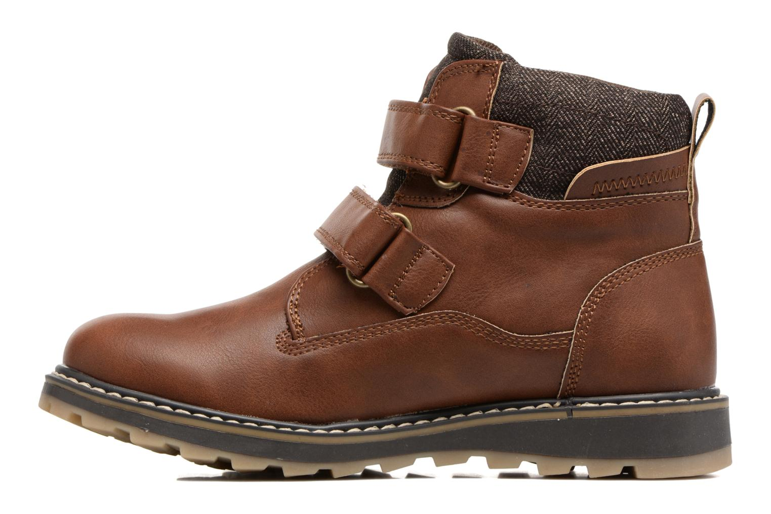 Ankle boots I Love Shoes GALLON Brown front view