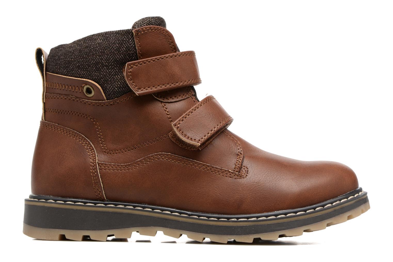 Boots en enkellaarsjes I Love Shoes GALLON Bruin achterkant