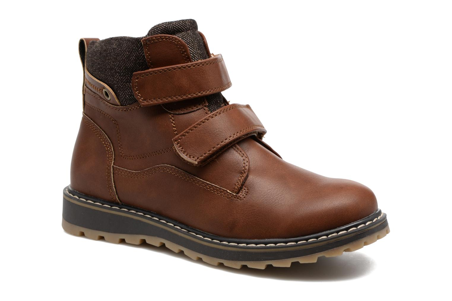 Ankle boots I Love Shoes GALLON Brown detailed view/ Pair view