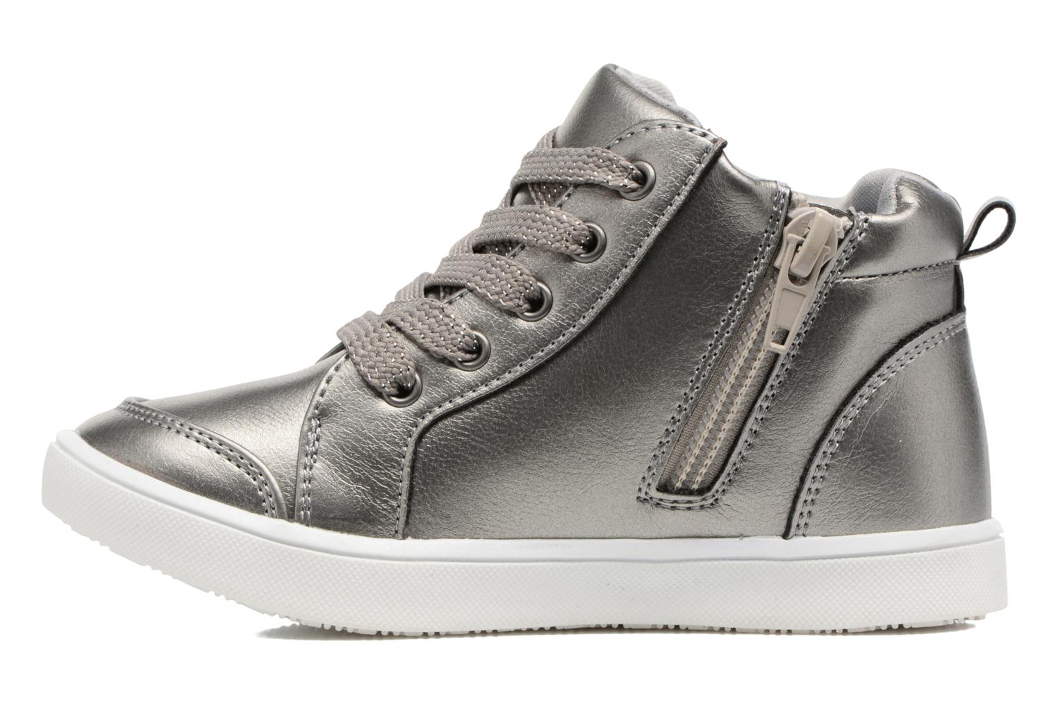 Trainers I Love Shoes FIDAN Grey front view