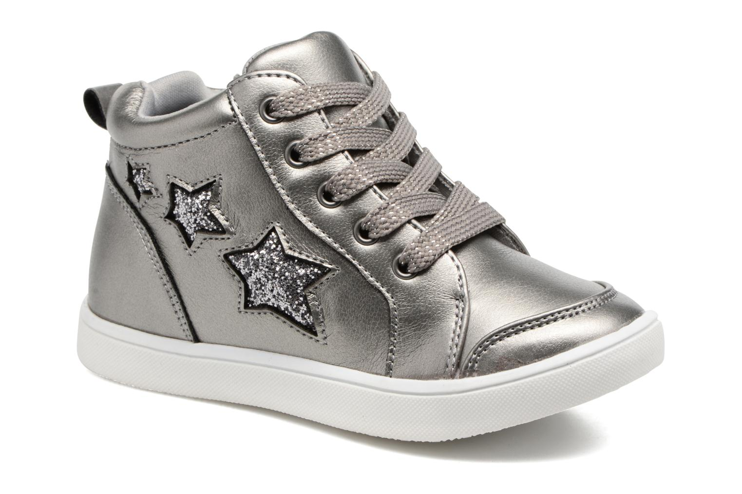 Trainers I Love Shoes FIDAN Grey detailed view/ Pair view