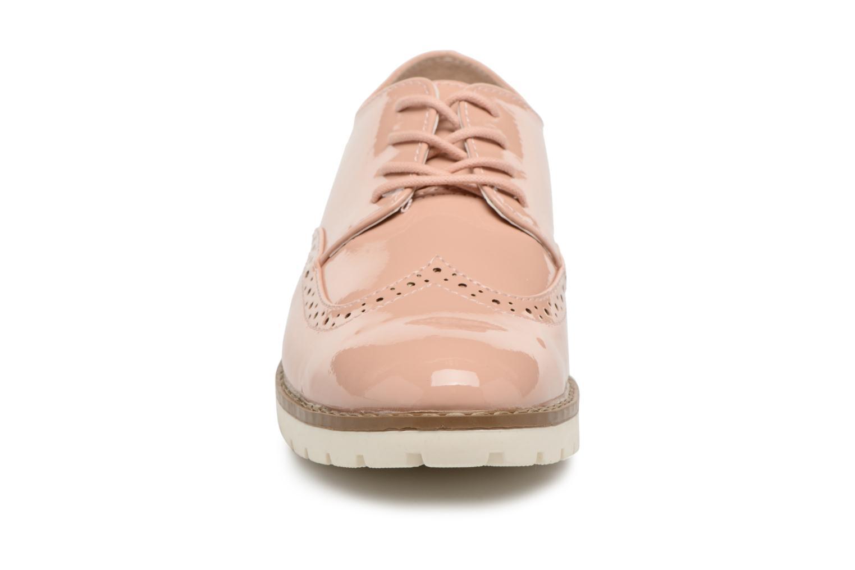 Zapatos con cordones I Love Shoes FANELY Rosa vista del modelo
