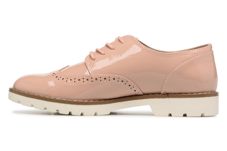 Schnürschuhe I Love Shoes FANELY rosa ansicht von vorne