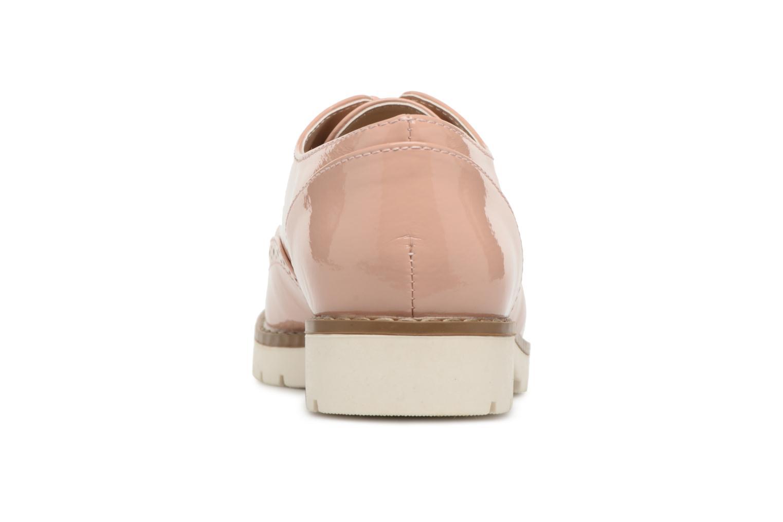 Zapatos con cordones I Love Shoes FANELY Rosa vista lateral derecha