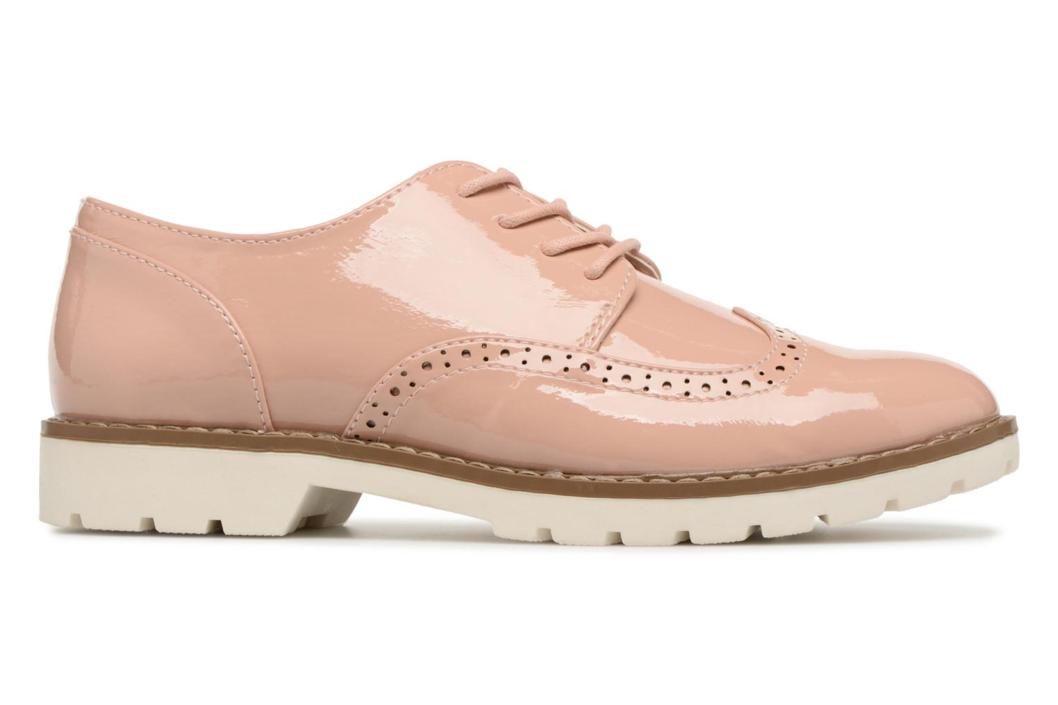 Lace-up shoes I Love Shoes FANELY Pink back view