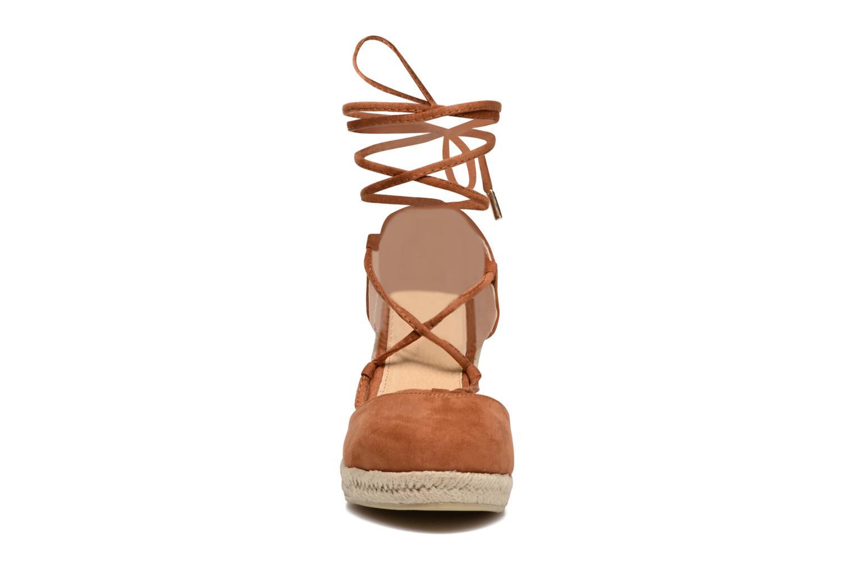 Espadrilles MTNG Felpi 53664 Marron vue portées chaussures