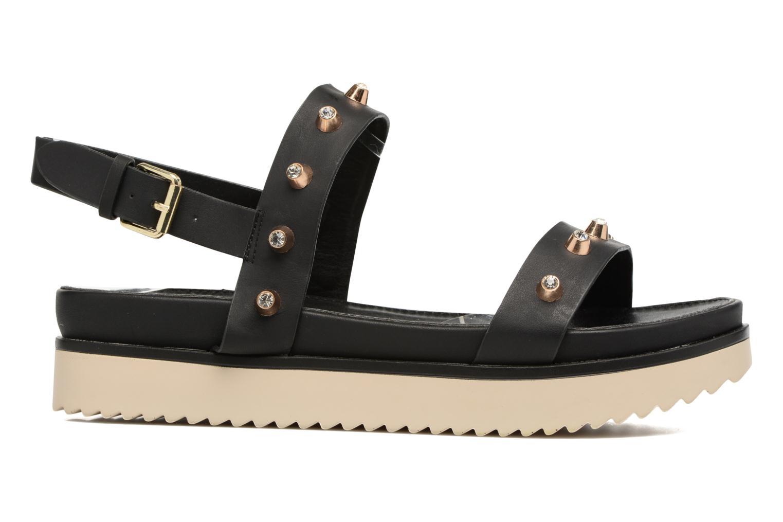 Sandales et nu-pieds MTNG Clou 53937 Noir vue derrière