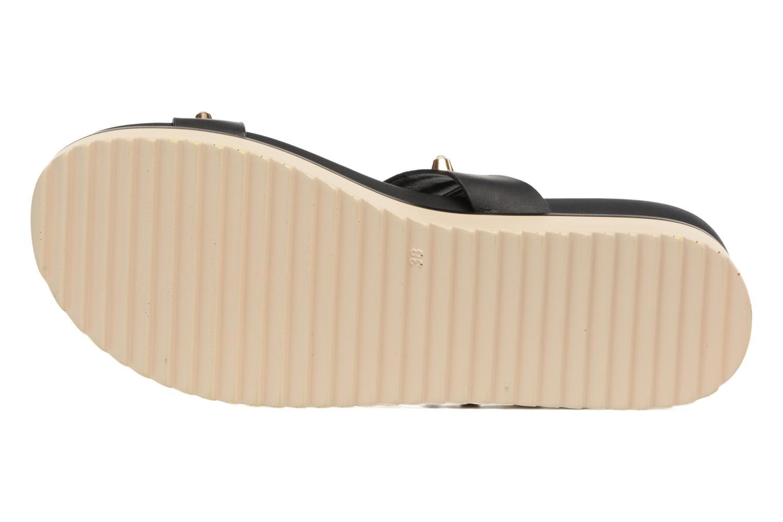 Sandales et nu-pieds MTNG Clou 53937 Noir vue haut