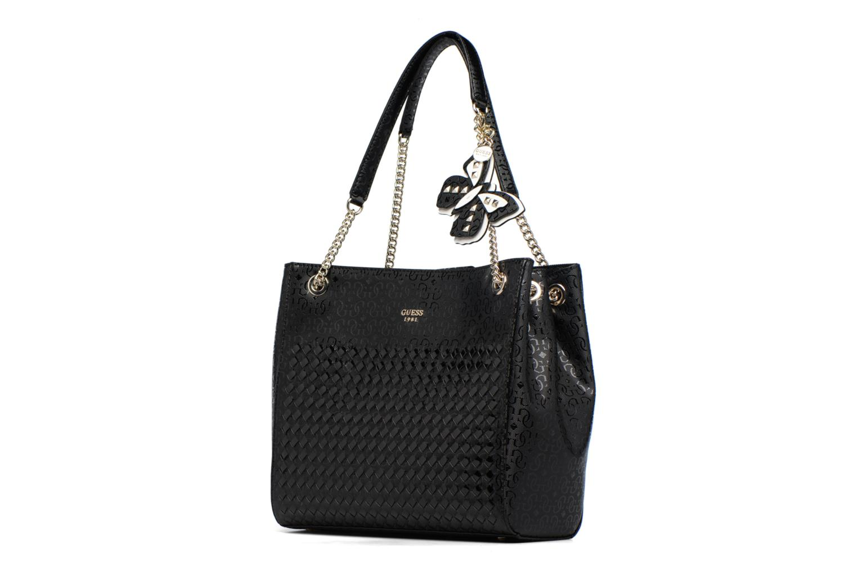 Porté épaule Shopper Flutter BLACK-BLA