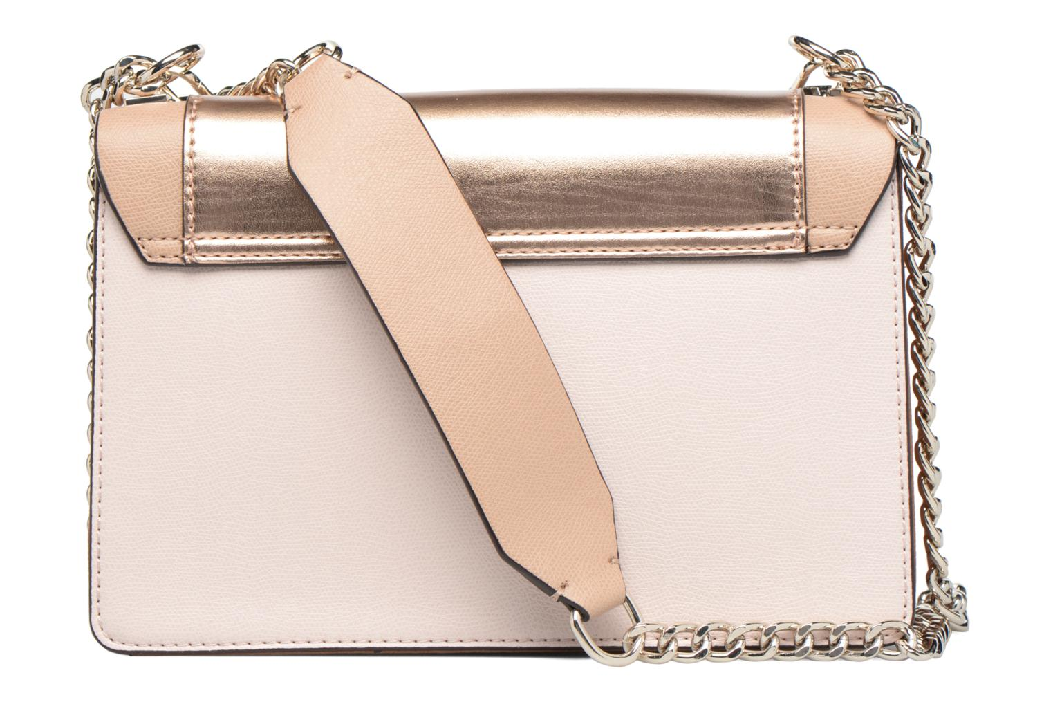 Crossbody Flap Double Porté Cool mix ROSE GOLD-ROG