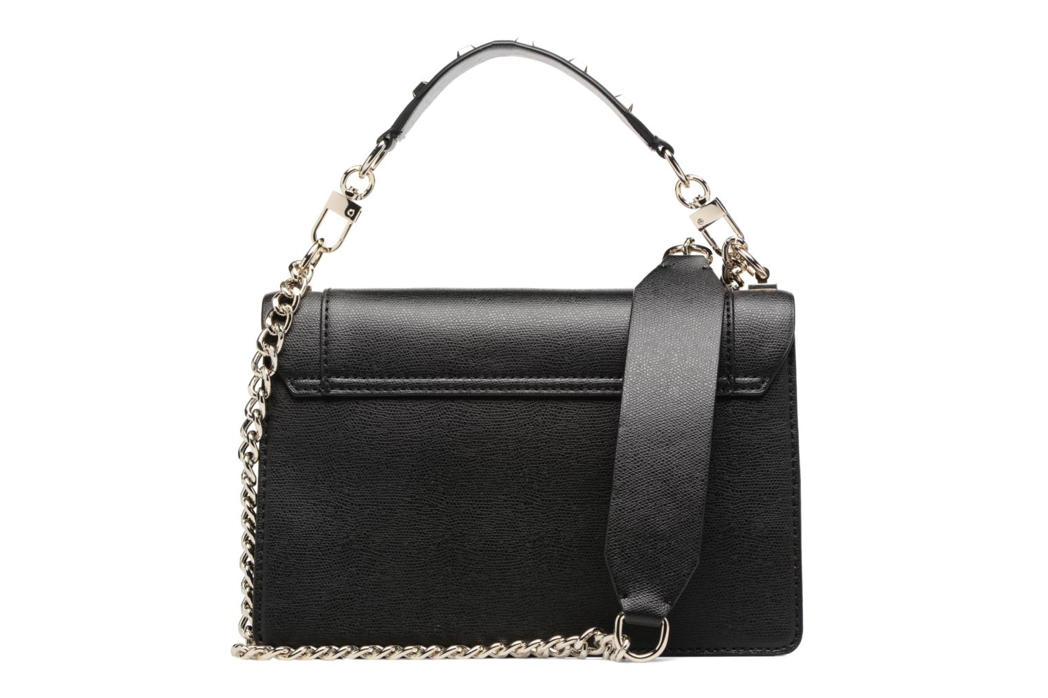 Sacs à main Guess Crossbody Flap Double Porté Cool mix Noir vue face