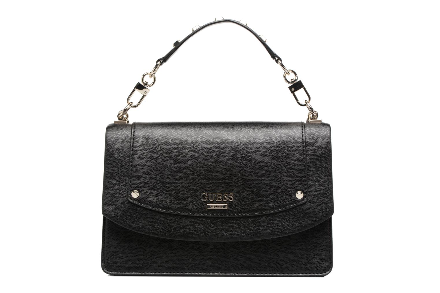 Sacs à main Guess Crossbody Flap Double Porté Cool mix Noir vue détail/paire