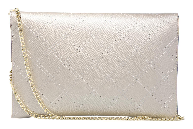 Handtassen Guess Pochette Envelope Clutch Aria Zilver voorkant