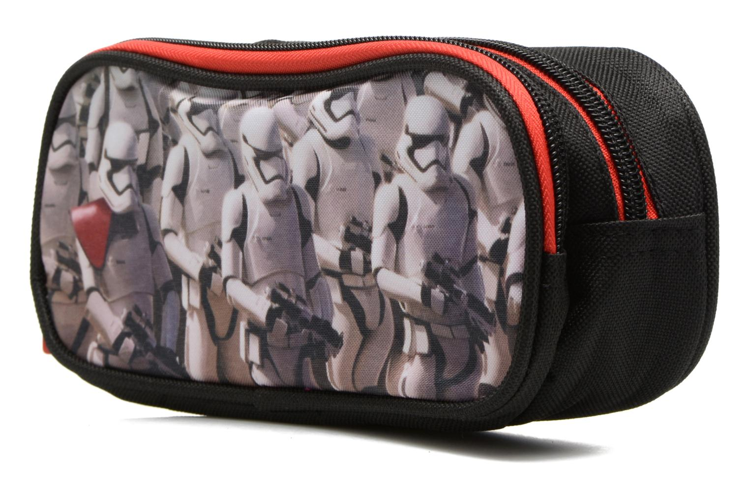 School bags Star Wars Trousse double Multicolor model view