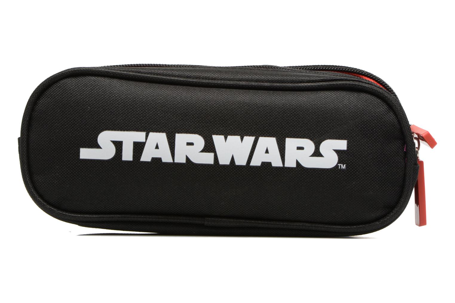 School bags Star Wars Trousse double Multicolor front view