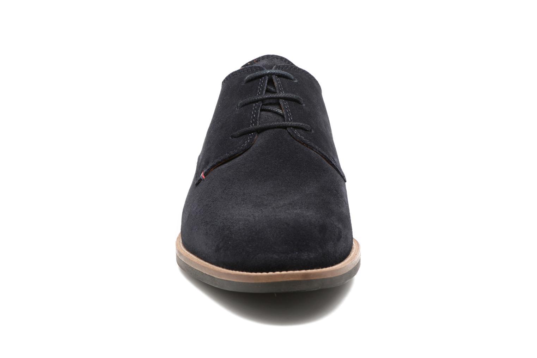 Chaussures à lacets Tommy Hilfiger Daytona 1B Bleu vue portées chaussures