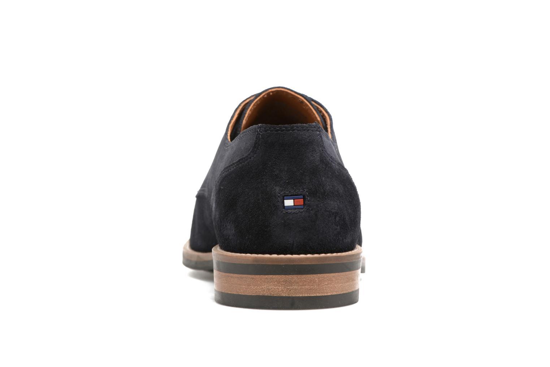 Chaussures à lacets Tommy Hilfiger Daytona 1B Bleu vue droite