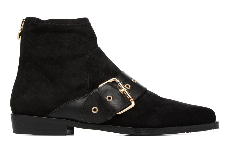 Boots en enkellaarsjes Tommy Hilfiger Gigi Hadid Flat Boot Zwart achterkant
