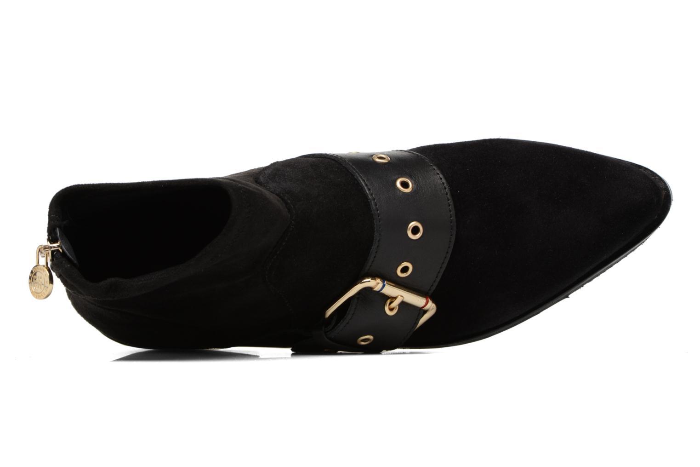 Boots en enkellaarsjes Tommy Hilfiger Gigi Hadid Flat Boot Zwart links