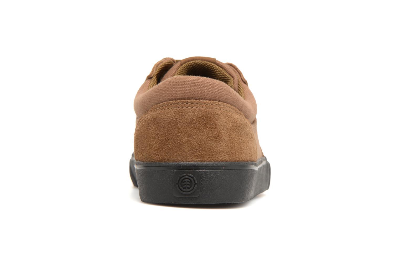 Sneaker Element Wasso braun ansicht von rechts