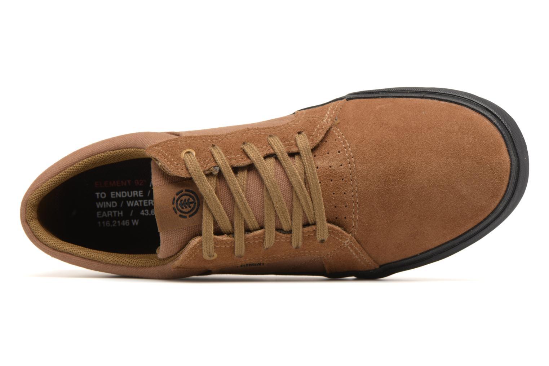 Sneaker Element Wasso braun ansicht von links