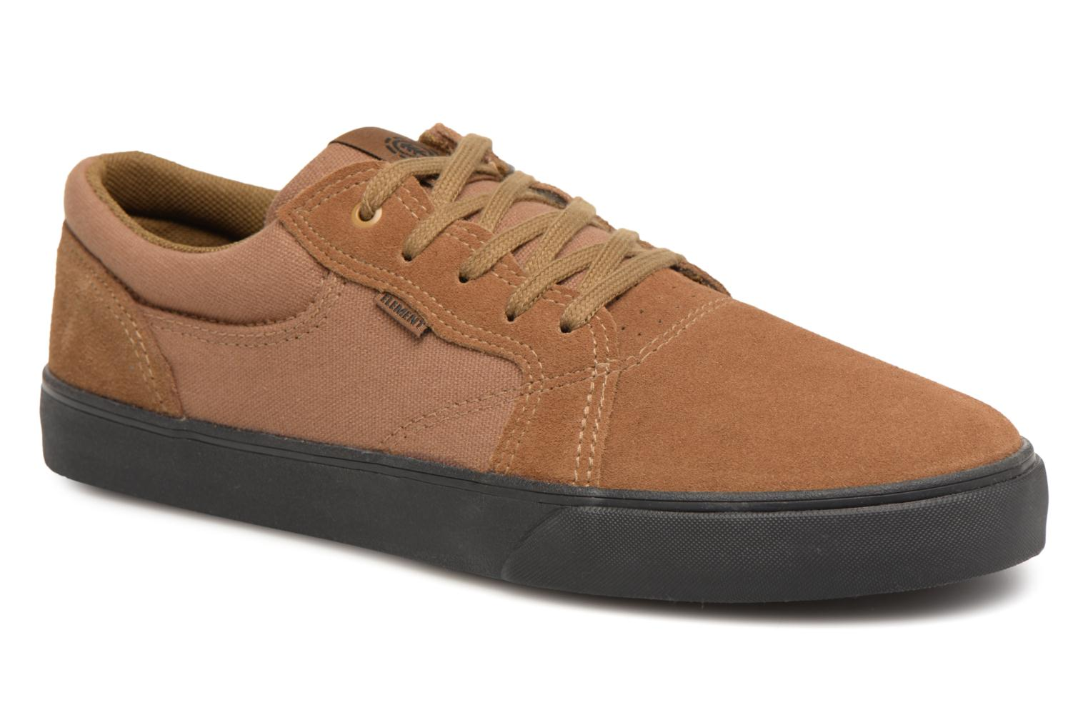 Trainers Element Wasso Brown detailed view/ Pair view