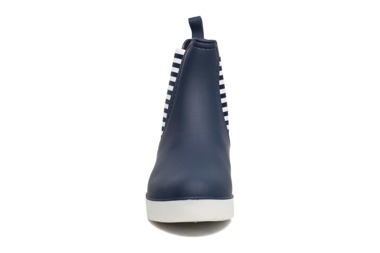 Stivaletti e tronchetti SARENZA POP OMANDY Azzurro modello indossato
