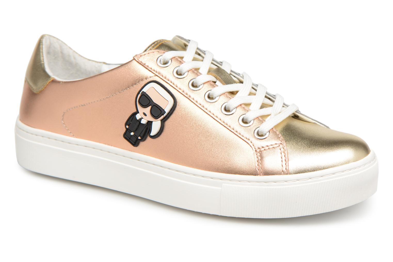 Zapatos promocionales Karl Lagerfeld Kupsole Karl Ikonik Lo Lace (Oro y bronce) - Deportivas   Cómodo y bien parecido