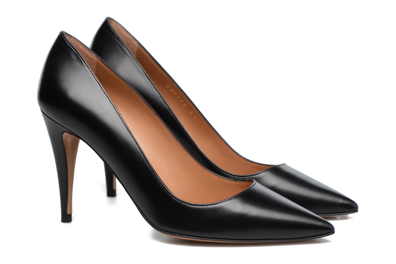 High heels Pura Lopez ZAAK117 Black 3/4 view
