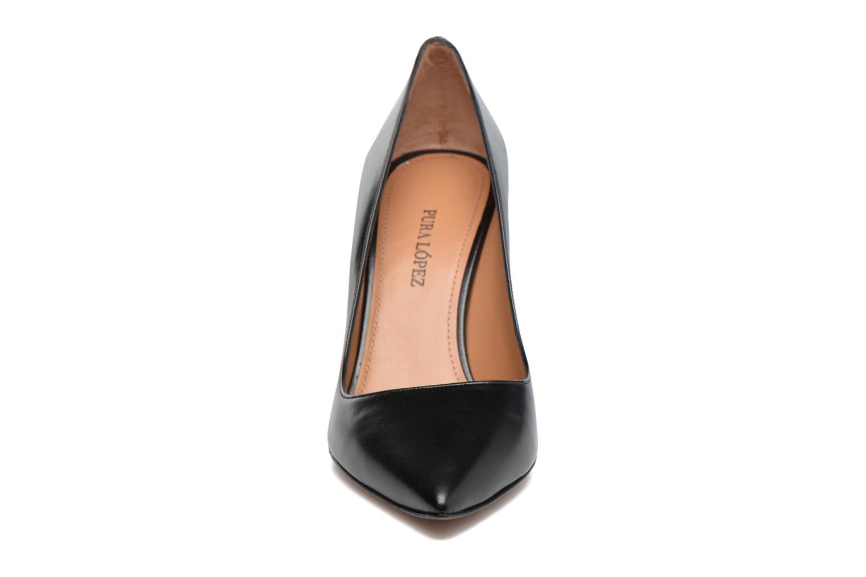 High heels Pura Lopez ZAAK117 Black model view